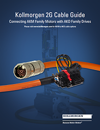 Kollmorgen 2G Cable Selection Guide